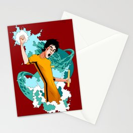 Be Like Water Stationery Cards
