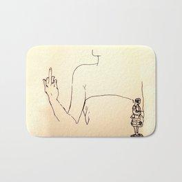 Fuck the oscar Bath Mat