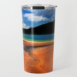 Grand Prismatic Spring in Yellowstone NP Travel Mug