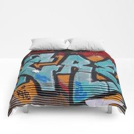 graffiti in Istanbul Comforters