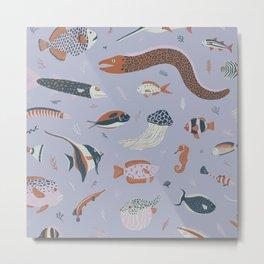 Ocean Variety Metal Print