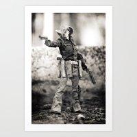 The Blind Cowboy • 5 Art Print
