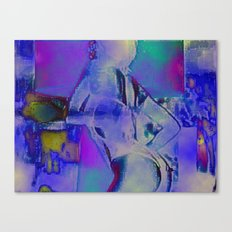 Cyber Dancer Canvas Print