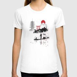 Japanese fisherman T-shirt