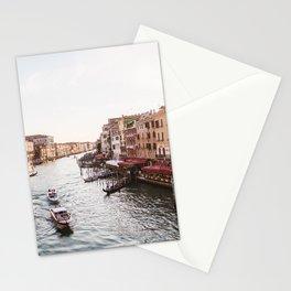 Venice Grand Canal views from Rialto Bridge Stationery Cards