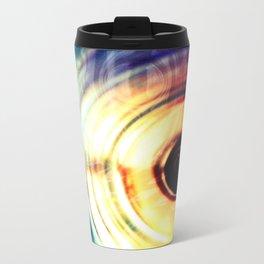 حلقه های رنگارنگ Metal Travel Mug