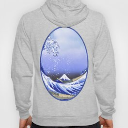 Surf's Up! The Great Wave Hoody
