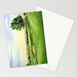 Carnoustie Golf Course Scotland 13th Green Stationery Cards