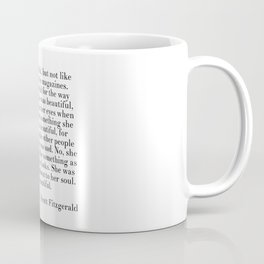 fitzgerald she was beautiful Coffee Mug