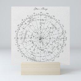 Star Map Mini Art Print