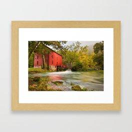 Alley Spring Mill - Eminence Missouri Framed Art Print