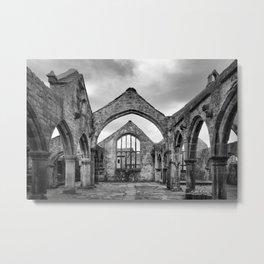 Thomas a Beckett Ruins, Heptonstall Metal Print