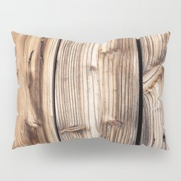 Wood pattern Pillow Sham