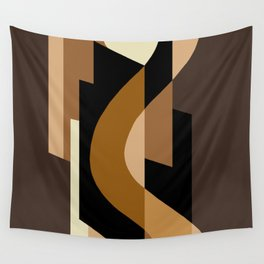 SUISSE - Art Deco Modern: CAFE JAVA Wall Tapestry