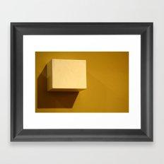 Little Box Framed Art Print