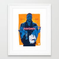 inside gaming Framed Art Prints featuring Inside Gaming: When Ebola Strikes by Haizeel Hashnan