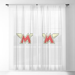 Moto Guzzi Sheer Curtain