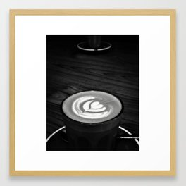 Coffee with Friends Framed Art Print