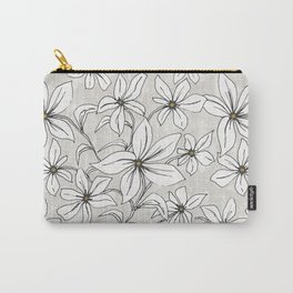 Lilium - Botanical Floral Stone Carry-All Pouch