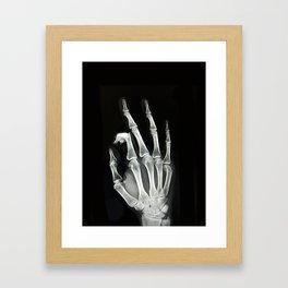 Everything is A-OK Framed Art Print