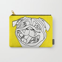 Hug a Sunny Pug Carry-All Pouch