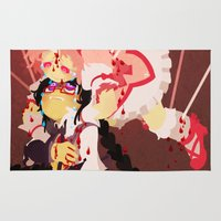 madoka Area & Throw Rugs featuring 10 Arrows by Soojin P.
