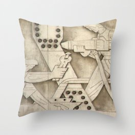 TSX04 Throw Pillow
