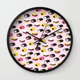 Cute licorice candy Wall Clock