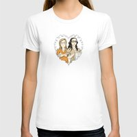 oitnb T-shirts featuring Alex & Piper Forever OITNB by StephDere