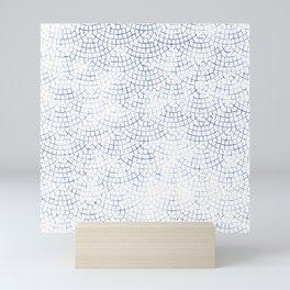 MOSAIC SCALLOP Mini Art Print