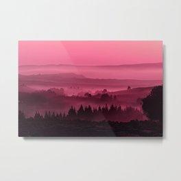 My road, my way. Pink. Metal Print