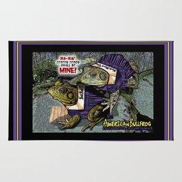 American Bullfrog- Choral Aggression Rug