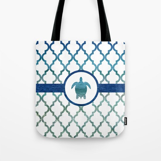 Turtle: Tropical Water Moroccan Pattern by jsdavies