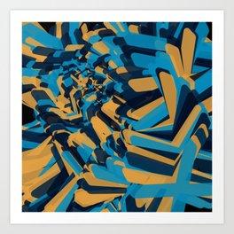 Xes Art Print