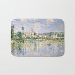 Vetheuil in Summer 1880 by Claude Monet Bath Mat