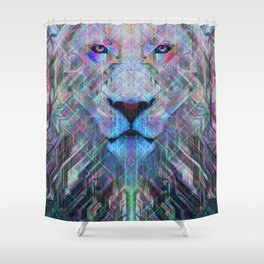 Imamu The Great Lion Shower Curtain