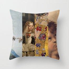 Art for Love Throw Pillow