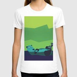 River Otter Illustration T-shirt