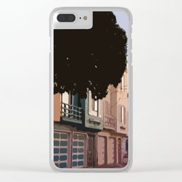 Sunset Houses, San Francisco  Clear iPhone Case
