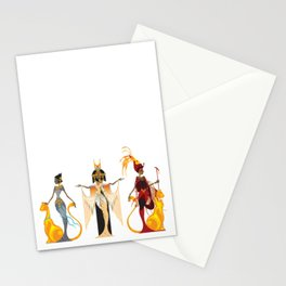 The Divas of Egypt Stationery Cards
