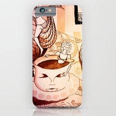 purple sleepy breakfast Slim Case iPhone 6s