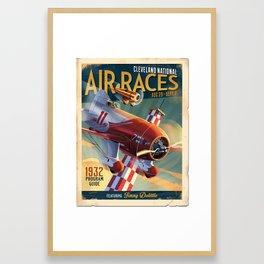 Gee Bee Racer aircraft Framed Art Print