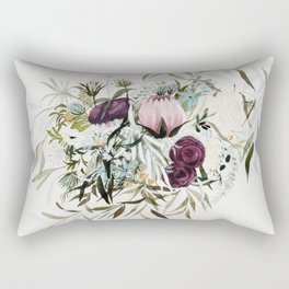 Rustic and Free Bouquet Rectangular Pillow