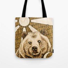 Karhun Synty Tote Bag