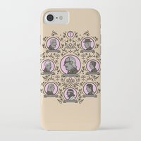 tenenbaums iPhone & iPod Cases featuring The Royal Tenenbaums and friends by M. Gulin