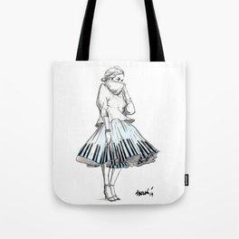 midi skirts Tote Bag
