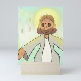The Savior Mini Art Print