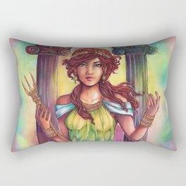 Kaina the rebel goddess Rectangular Pillow