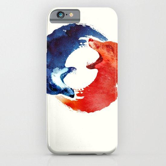 Ying yang iPhone & iPod Case