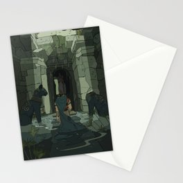 Where are you leading me? Stationery Cards